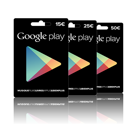 how to use google play card