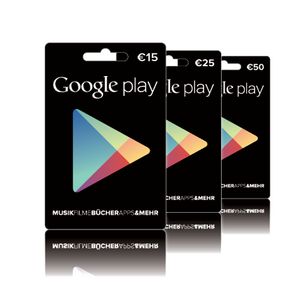 Google Play Gutschein 5€