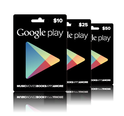 GOOGLE PLAY GIFT CARD AVAIABLE IN INDONESIA