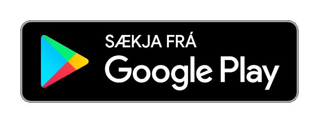 Sækja frá Google Play